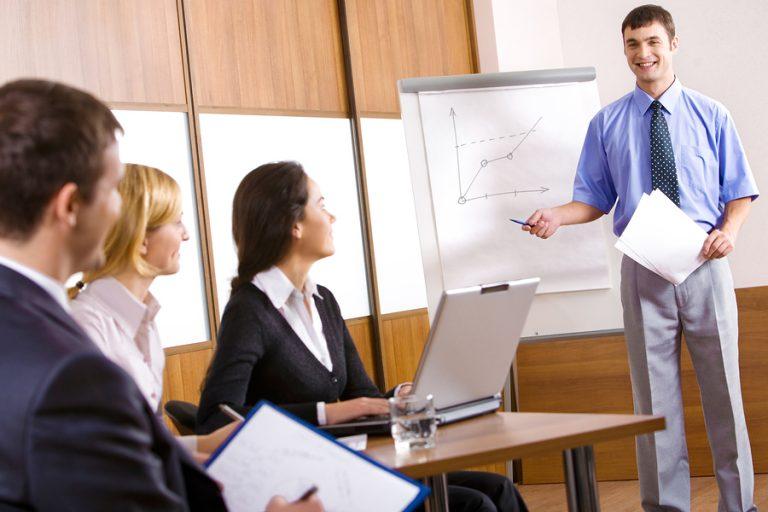 bigstockphoto_Business_Training_2505247